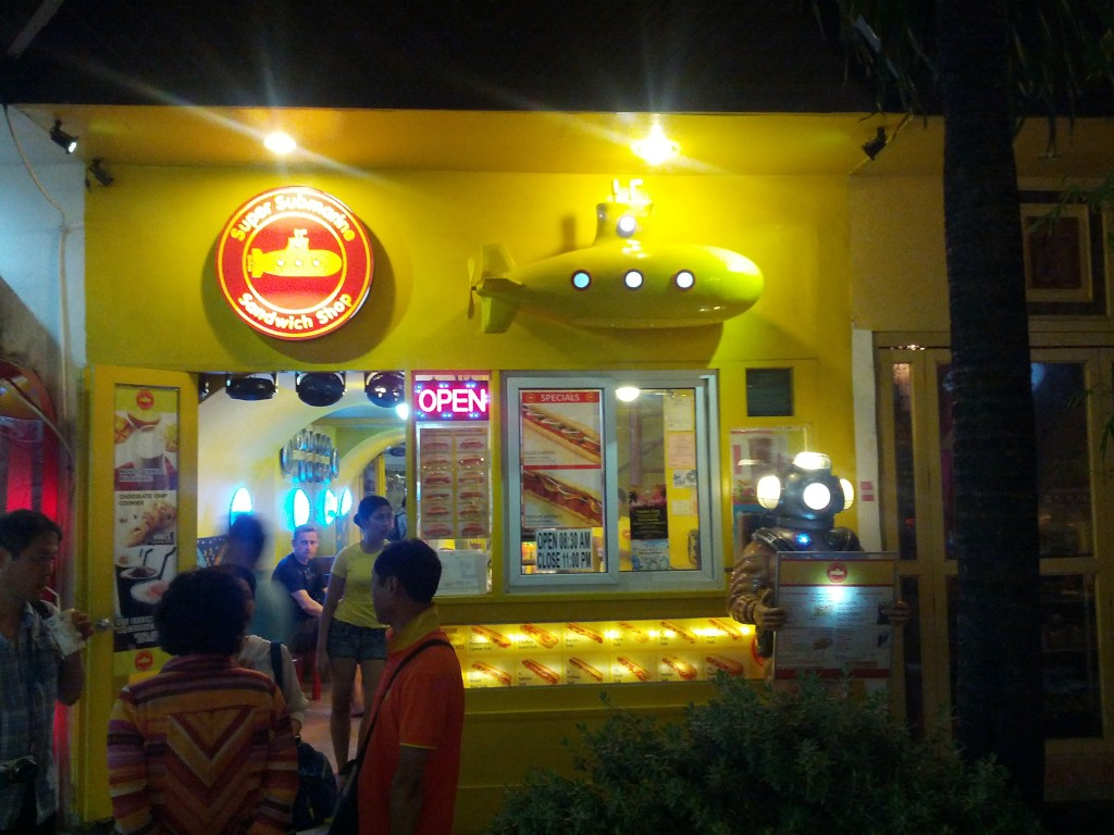 Boracay Super Submarine Sandwich Shop